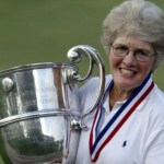 Golfer Marlene Streit wins the US Senior Women's Amateur Championship