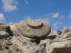The base of a pillar, Selinunte, Sicily. Photo: CanadianKate