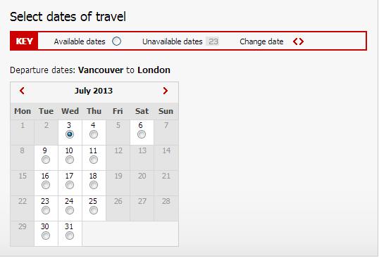 VS Award Calendar
