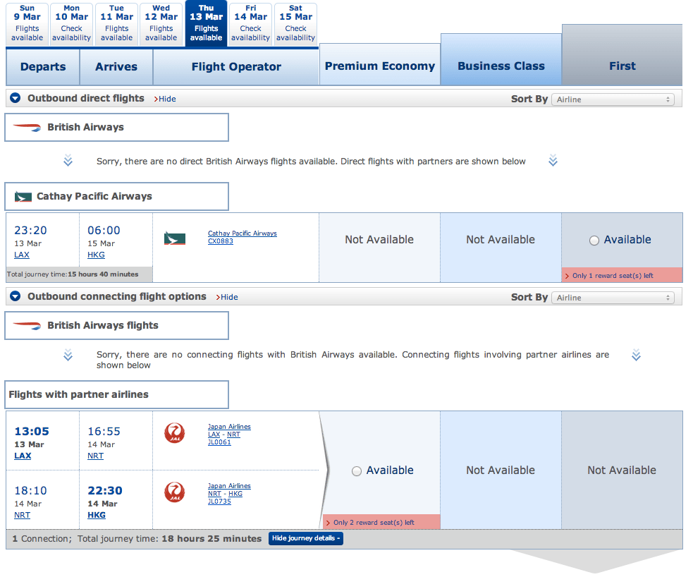 BA New Interface