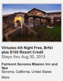 Virtuoso Free NIght Offer