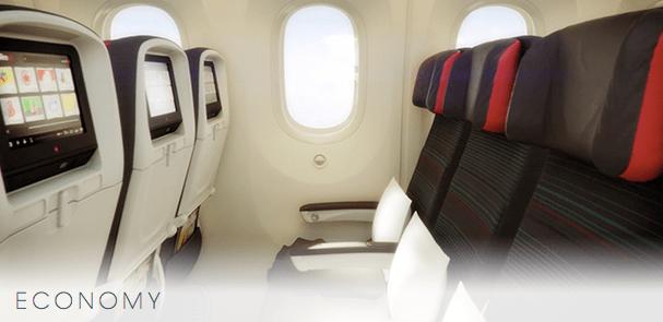 Air Canada 787 Economy Class