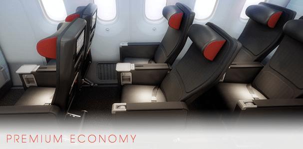 Air Canada 787 Premium Economy