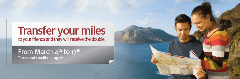Lifemiles Transfer Promotion