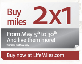 Lifemiles Miles Promotion