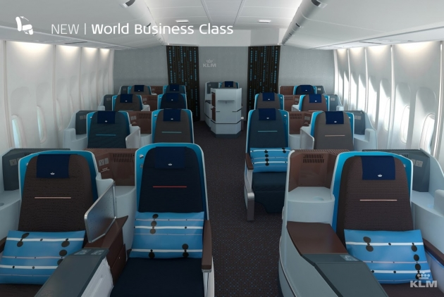KLM New World Business Class