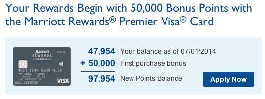 Chase Canada Marriott Visa
