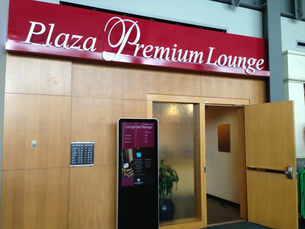 Vancouver Plaza Premium Lounge Transborder