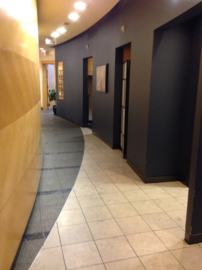 Vancouver Plaza Premium Lounge Transborder Hallway