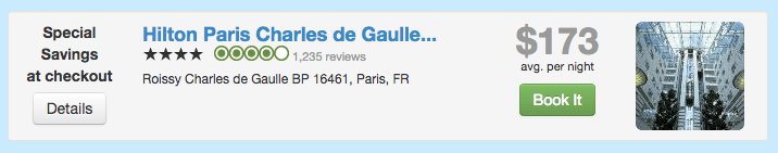 Travelpony Discount on Hilton Paris Charles de Gaulle