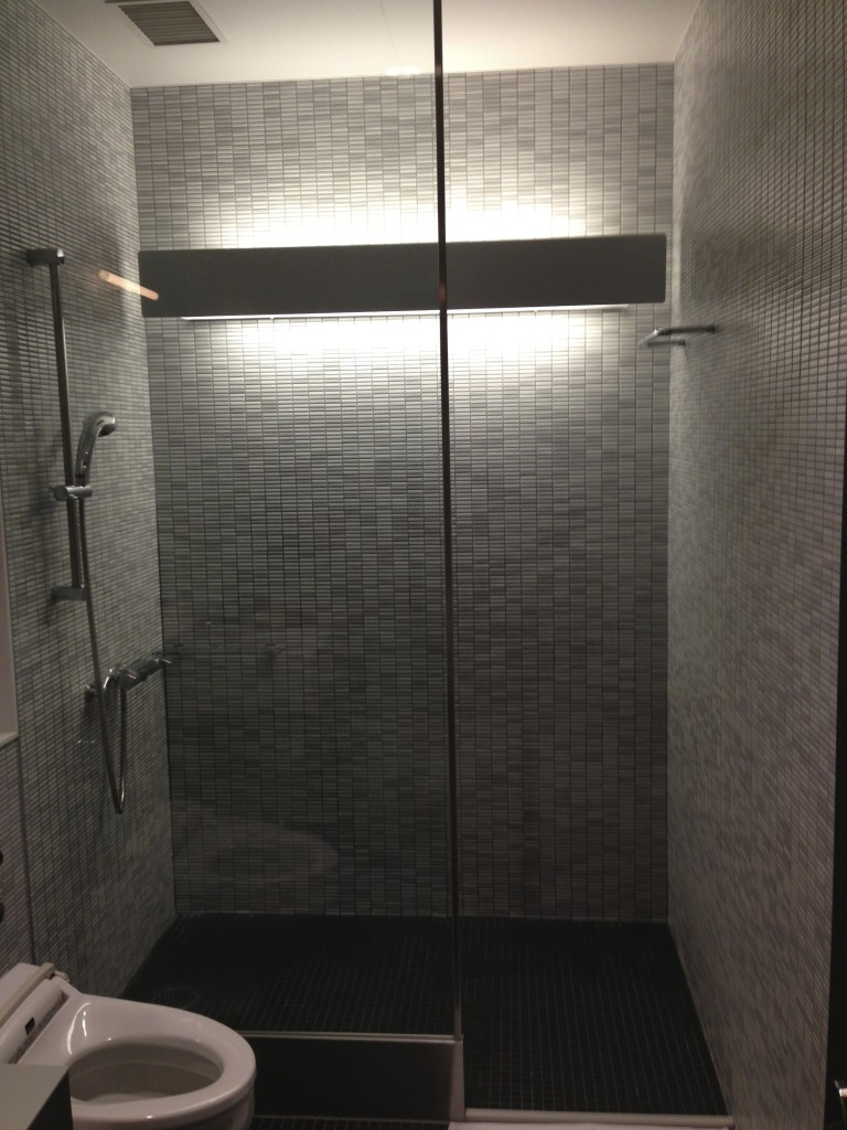 ANA Suites Lounge Shower