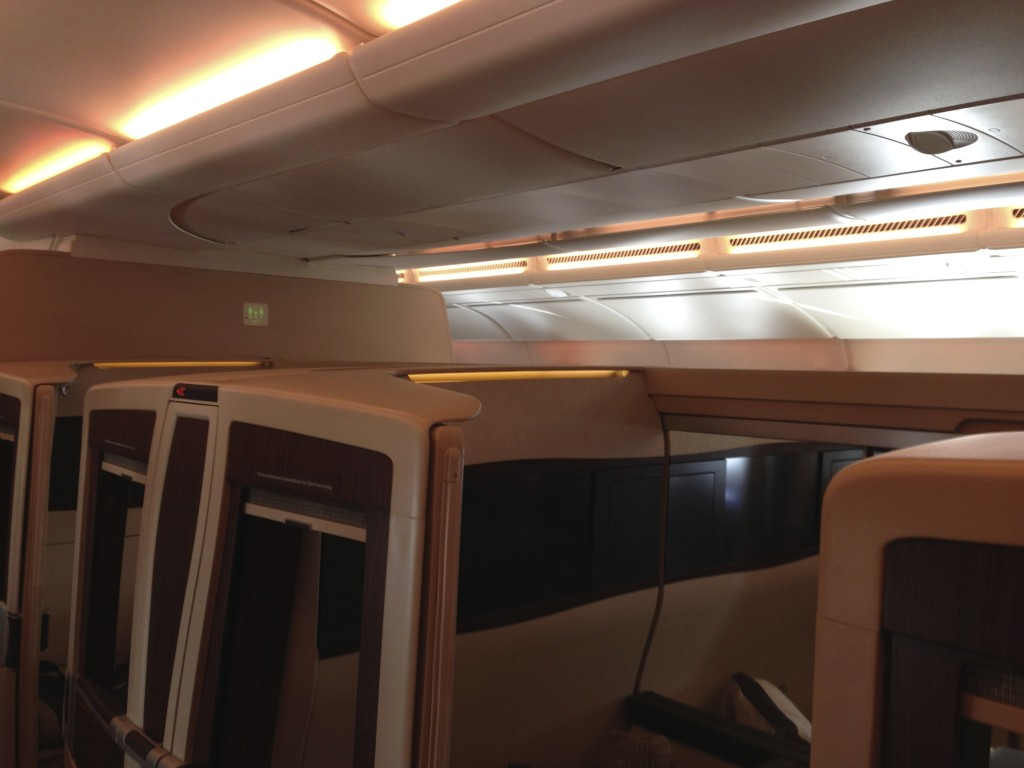 Singapore Airlines A380 Suites Ceilings