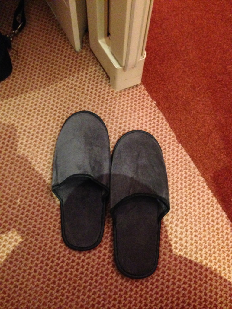 Singapore Airlines A380 Suites Slippers