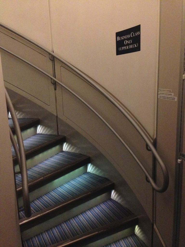 Singapore Airlines A380 Suites Stair