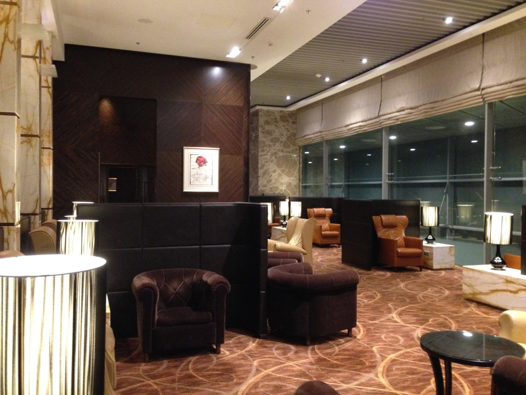 Singapore Airlines The Private Room Seating Area