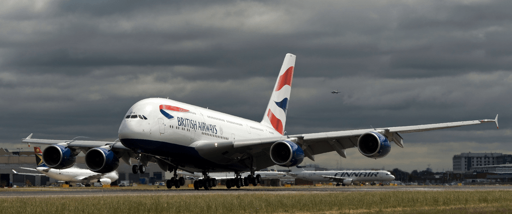 British Airways A380 Vancouver