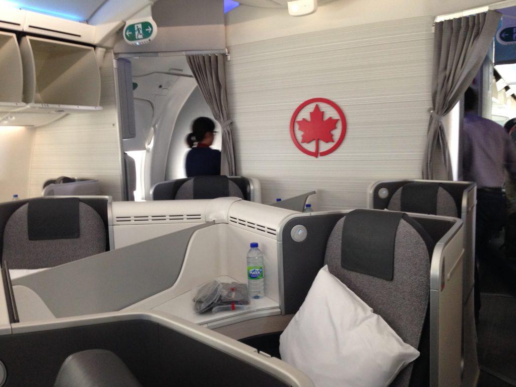 Air Canada 787 Business Class