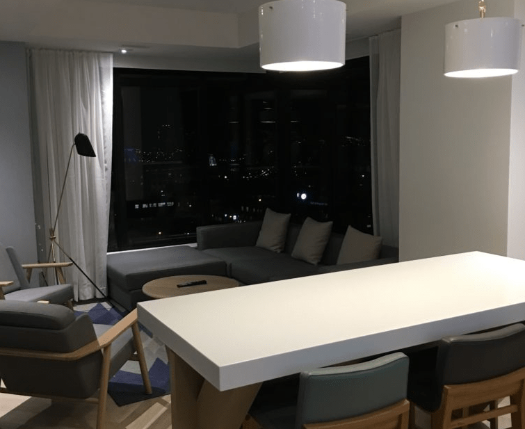 Andaz Ottawa Review Suite Living Room
