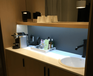 Andaz Ottawa Review Complimentary Minibar and Snacks