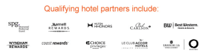Aeroplan Transfer Bonus Participating Partners