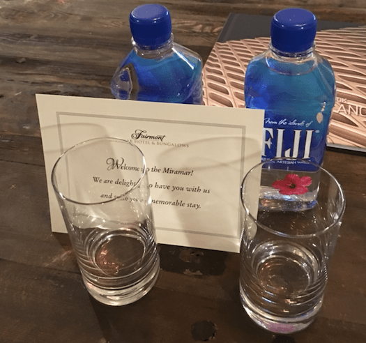 Fairmont Platinum Welcome Amenity