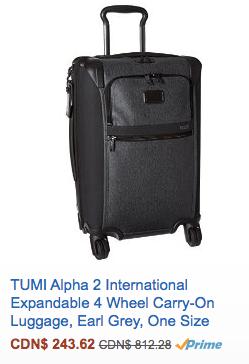 Tumi Alpha 2 international Carry-On