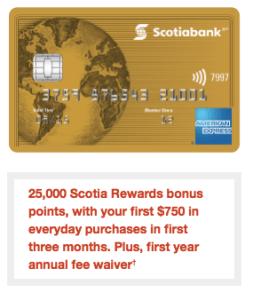 Scotiabank Gold American Express