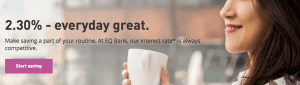 Best High Interest Savings Account in Canada - EQ Bank