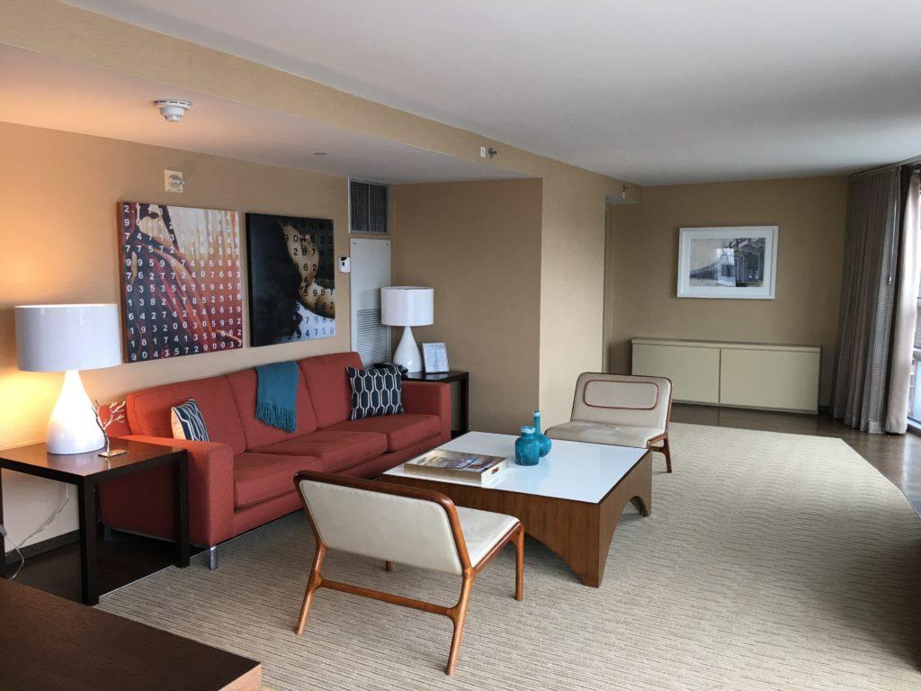 Hyatt Regency Jersey City Review - Seating Area