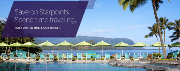 SPG Points Discount