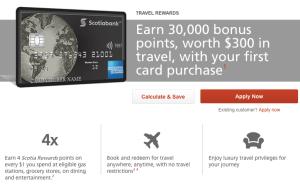 Scotiabank American Express Platinum