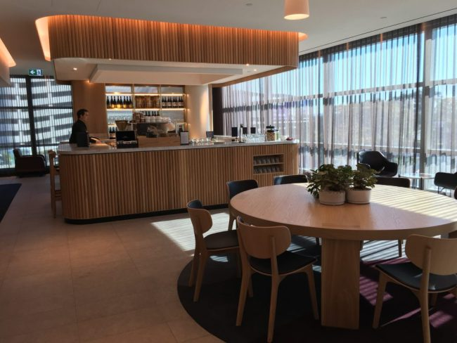 Qantas Brisbane Business Lounge