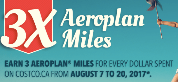 Aeroplan Costco - Earn 3x the Miles