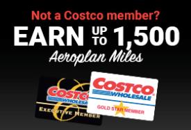 Aeroplan Costco - New Membership
