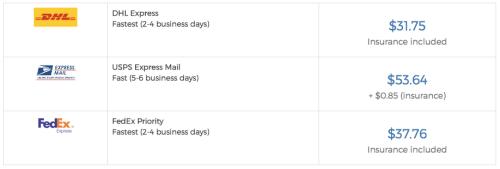 US Address - Shipito Shipping