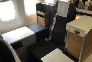 Swiss Business Class Redemption with Aeroplan