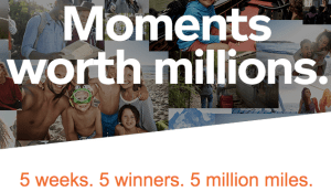 Aeroplan Moments worth Millions Contest