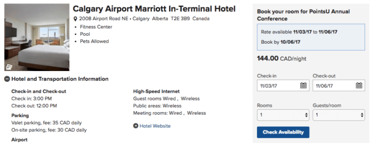 Marriott Calgary Airport Hotel