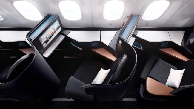 WestJet 787 Dreamliner Business Class