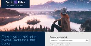 Marriott Transfer Bonus to United - 30%Marriott Transfer Bonus to United - 30%