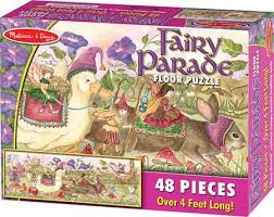 Fairy Parade Floor Puzzle - 48 Pieces