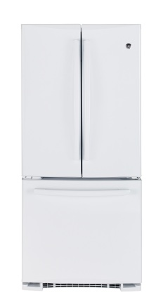 PNR20KGEBFWW GE 19.5 cu.ft. French Door Bottom-Mount, w/Factory Installed Icemaker