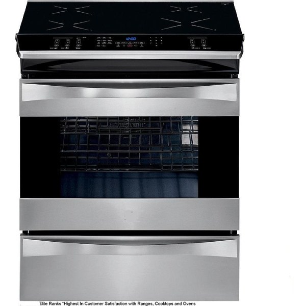 22364262310 KM Elite 30 Induction Range Slide-in Convection - Stainless