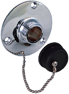 WATER OUTLET FITTING W/CAP