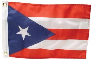 PUERTO RICO FLAG 12 X 18