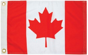 CANADIAN ENSIGN 9X18
