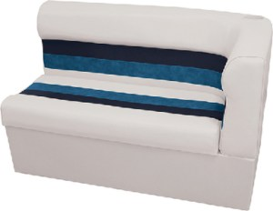 SEAT-CRNR LOUNG LH WHT-NVY-BLU