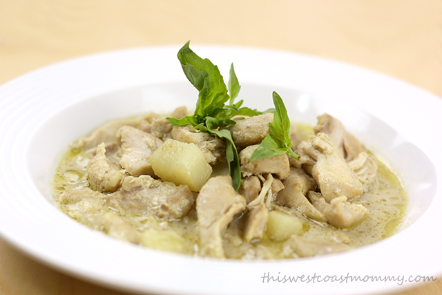 Thai Green Curry Chicken - Easy Slow Cooker Meals