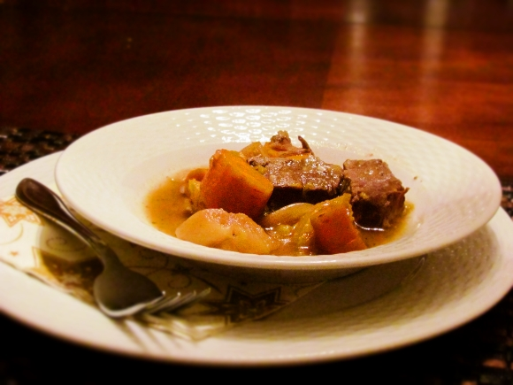 Veal, Apples, and Butternut Squash - Easy Slow Cooker Meals
