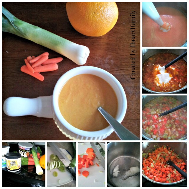 Citrus Infused Carrot Soup